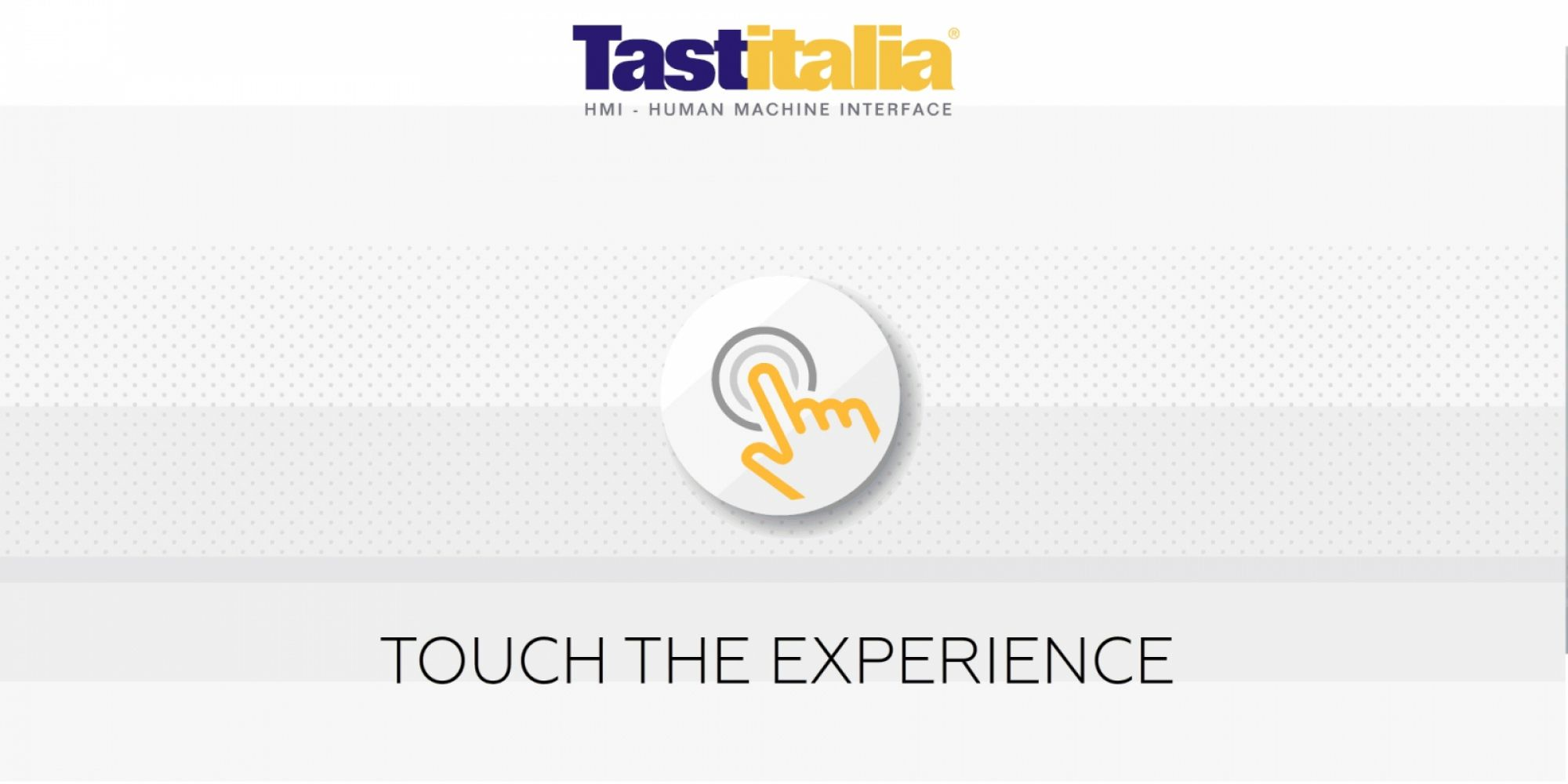 Tastitalia - Touch the experience!